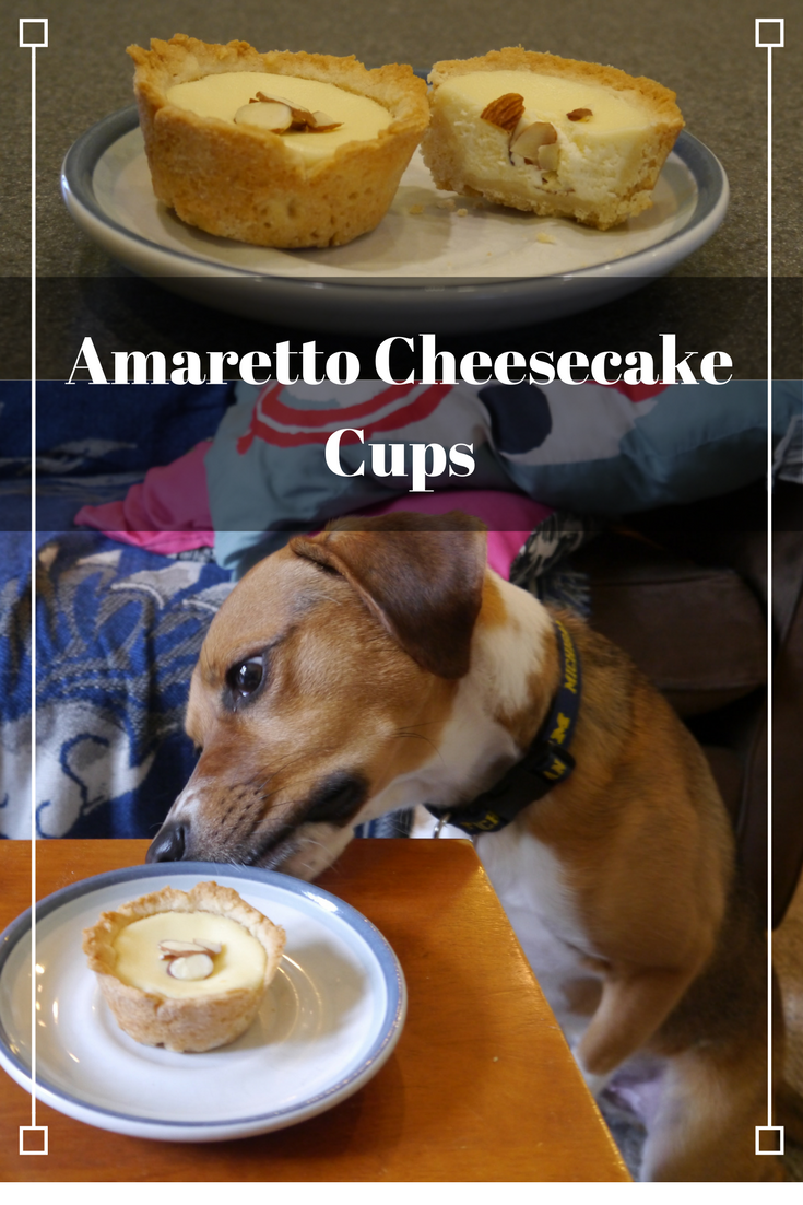 Pin for Amaretto Cheesecake Cups