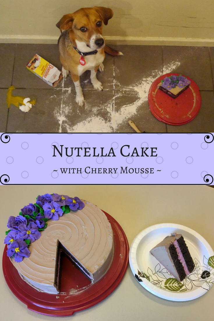 Pin for Nutella Cake