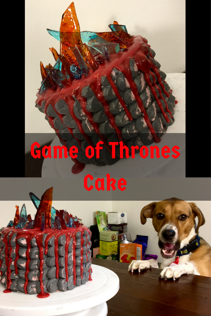 pin for game of thrones cake
