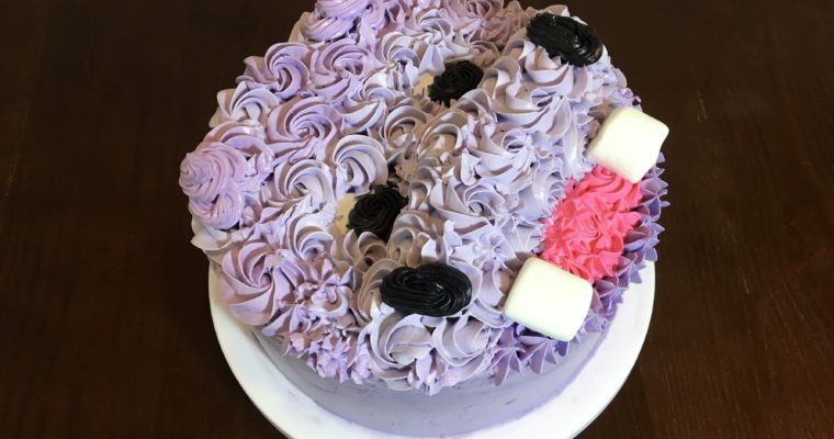 How to Make a Chocolate & Strawberry Hippo Cake