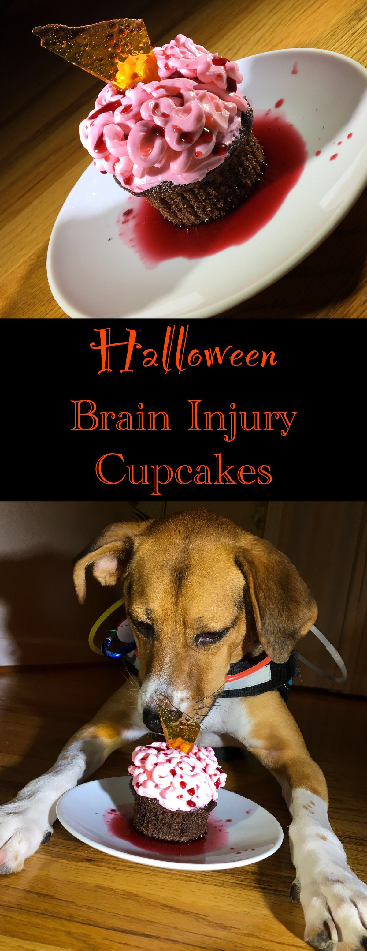 vertical pin for brain cupcakes
