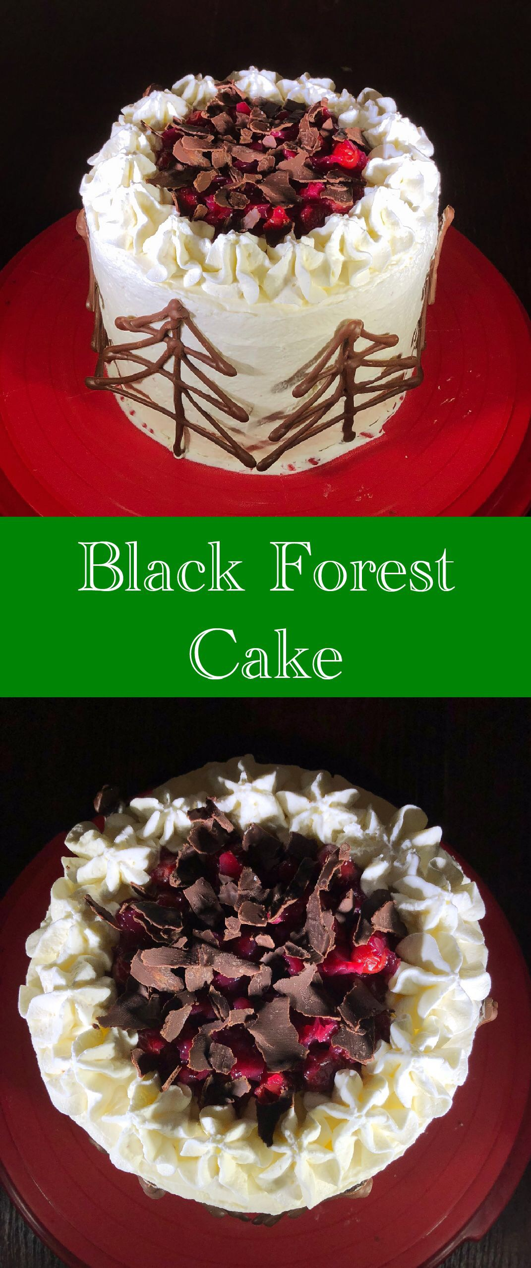 pin black forest cake